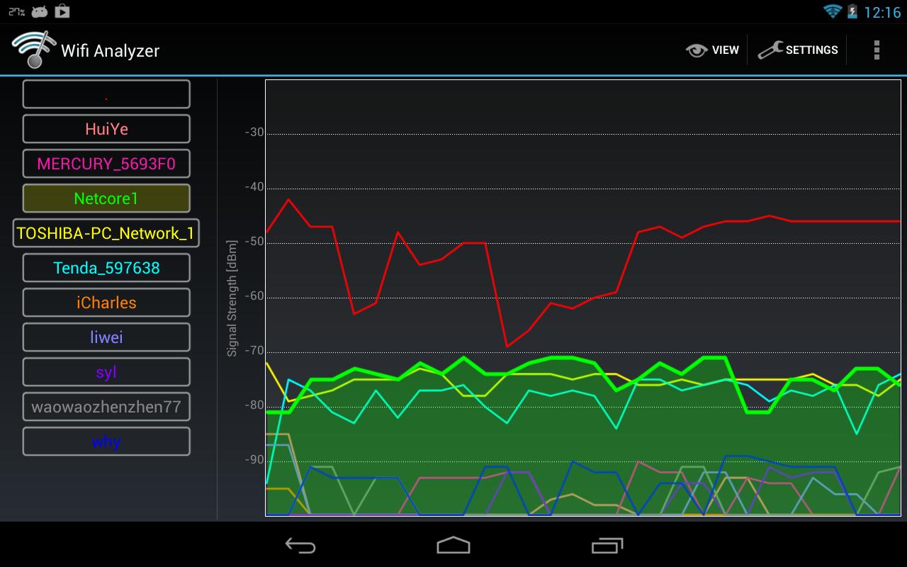 Wifi Analyzer screenshot 2