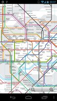 London Tube and Rail Map Free Offline 2019 Screen