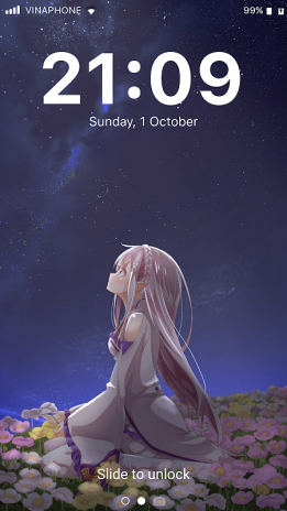 Anime Lock Screen And Wallpapers 1