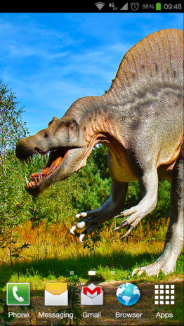 Dinosaurs Live Wallpaper Screenshot 3