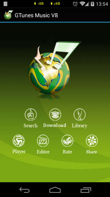 GTunes Music Download for Android - Download