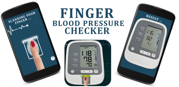 finger blood pressure checker free download