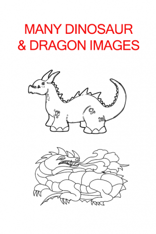 Dragon Dinosaur Coloring Book Screenshot 1 2