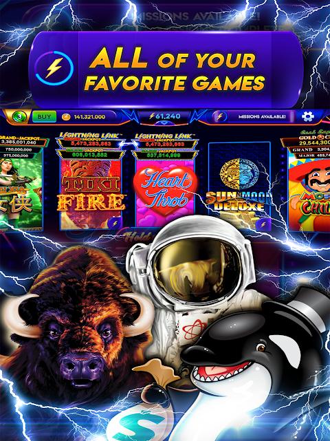 Caça-níqueis Lightning Link Casino screenshot 2