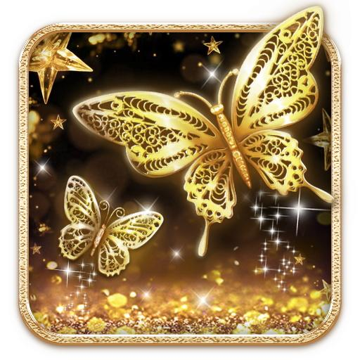 Golden Butterfly Live Wallpaper 1 1 1 Download Android Apk Aptoide
