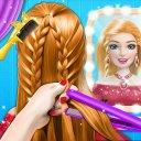 Braided Hair Salon MakeUp Game
