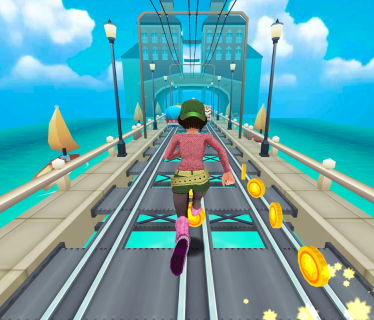 Subway Princess Surf - Endless Run screenshot 14