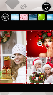 Xmas Wreath Photo Collage screenshot 4