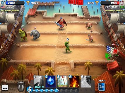 Castle Crush: Free Strategy Card Games screenshot 7