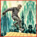 Ninja KriegerDrache Klinge Run
