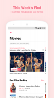 Watcha - Movies, TV Series Recommendation App Screen