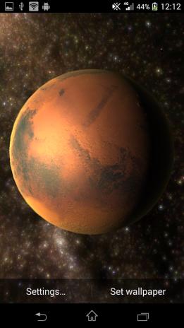 Planets Live Wallpaper Screenshot 5