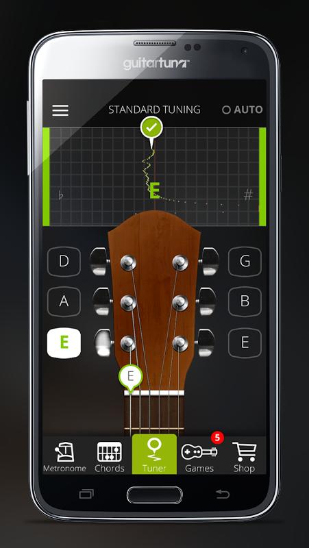 Afinador Guitarra -GuitarTuna screenshot 2