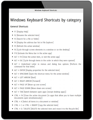 Keyboard Shortcut for Windows   Download APK for Android ...