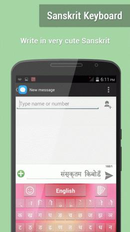 Sanskrit Keyboard 3 1 Download APK for Android - Aptoide