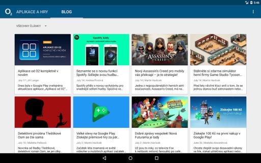 Aplikace od O2 screenshot 10