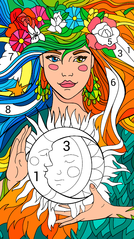 Happy Colour – Colour by Numbers screenshot 1