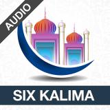 Six Kalimas with Audio Icon