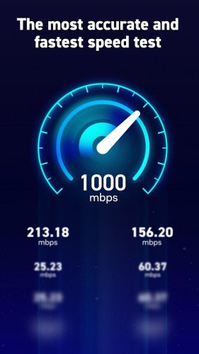 Internet Speed Test: Wifi, Net, 3G, 4G, 5G, Fiber screenshot 2