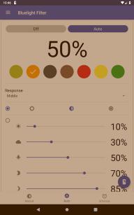 Bluelight Filter for Eye Care - Auto screen filter screenshot 15