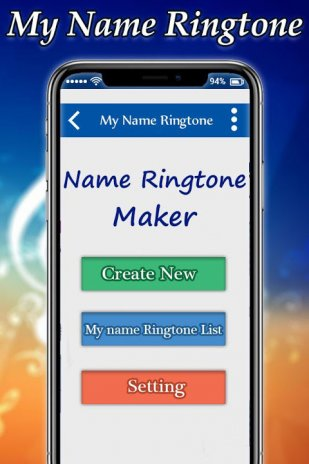create ringtone for my name