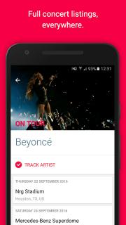 Songkick Concerts screenshot 3