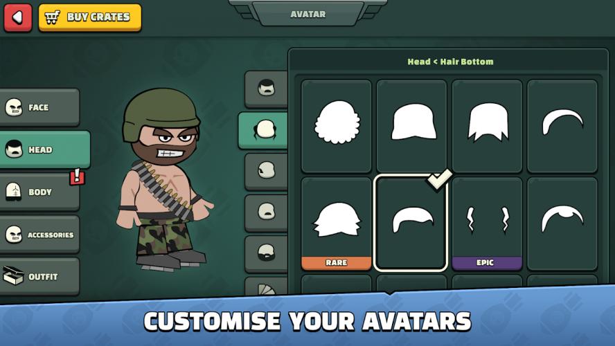 Doodle Army 2 : Mini Militia screenshot 12