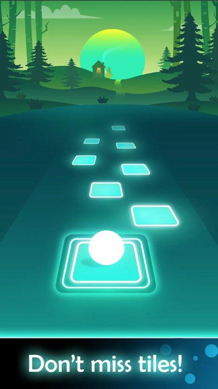 Tiles Hop: Endless Music Jumping Ball New screenshot 1