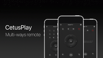 CetusPlay - TV Remote Server Receiver Screen