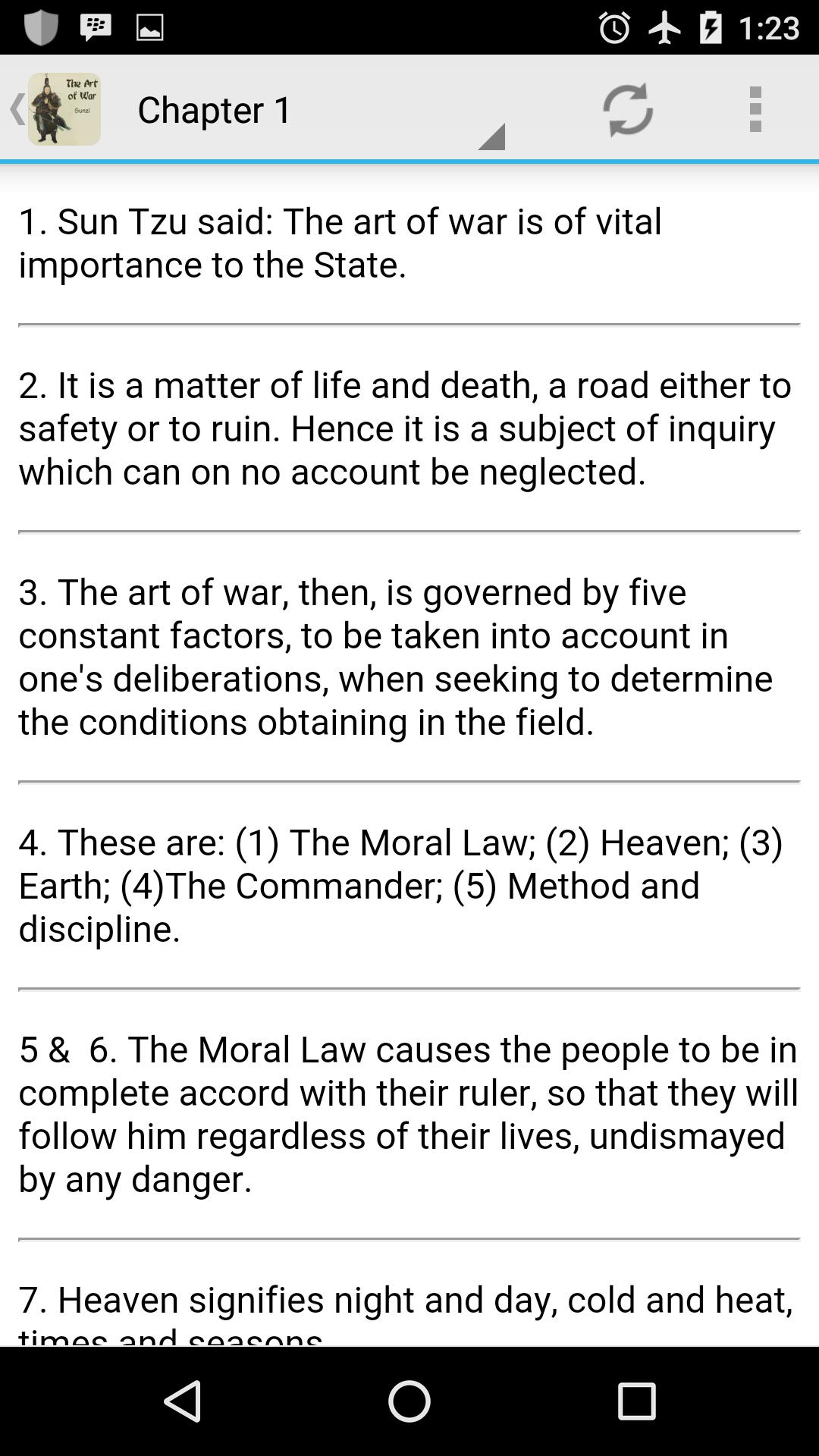 Art of War by Sun Tzu (ebook & audiobook) screenshot 2