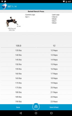 Jefit free android app | jefit best android and iphone workout.