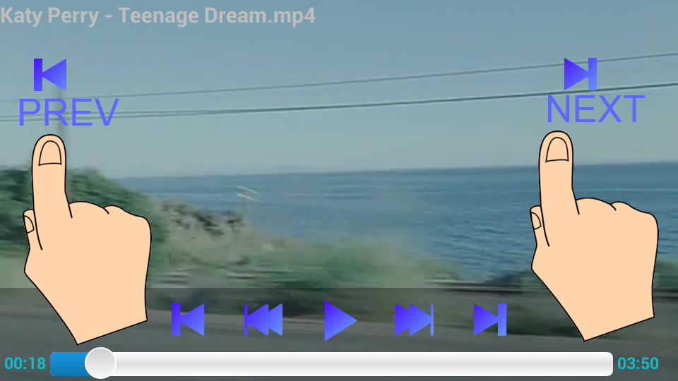 Video Player fundo screenshot 1