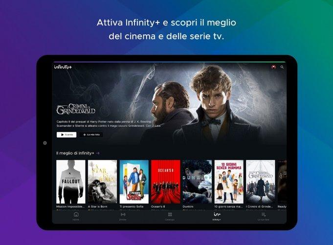 Mediaset Infinity TV screenshot 5