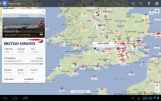 Plane Finder - Flight Tracker Screen