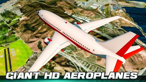 City Flight Airplane Flying Simulator screenshot 3