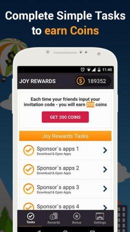 Joy Rewards - Free Gift Cards 1 0 8 Unduh APK untuk Android