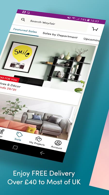 Wayfair - Furniture & Decor screenshot 2