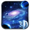 Spiral Galaxy 3D Fantasy Theme