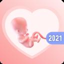 My pregnancy calendar app: baby countdown timer