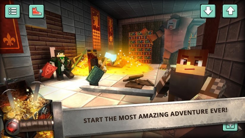 Craft the Adventure: Blocky World Legendary Quest 1 5 Download APK