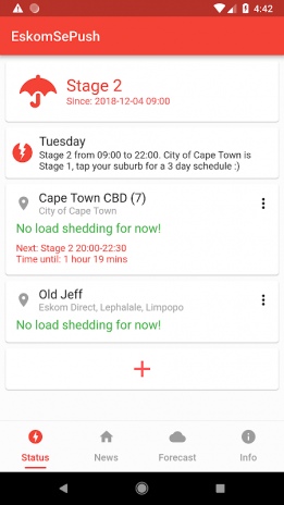 EskomSePush - Load Shedding App 2 2 2 Download APK for