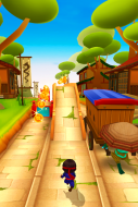 Ninja Kid Run Free - Fun Games Screenshot