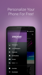 ZEDGE™ Ringtones & Wallpapers screenshot 1