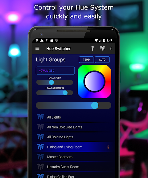 Hue Switcher - for Philips Hue Systems screenshot 1