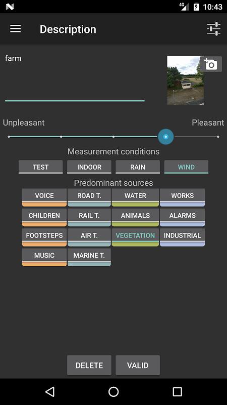 NoiseCapture screenshot 6