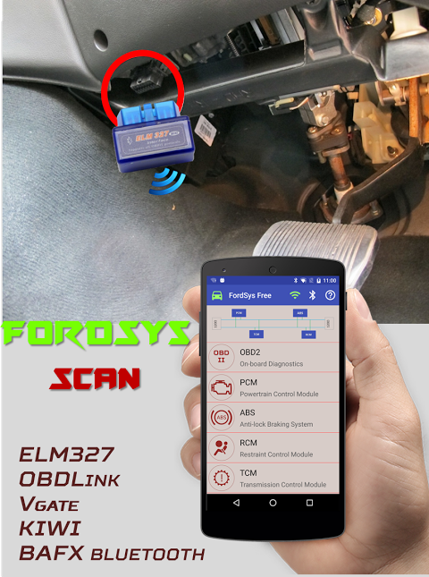 FordSys Scan Free (OBD2 & ELM327) screenshot 1