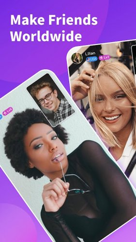 Chamet - Live Video Chat & Meet & Party Rooms screenshot 1