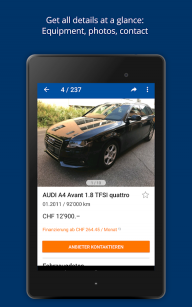 AutoScout24 Switzerland – Find your new car screenshot 8