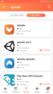 Aptoide Dev screenshot 6