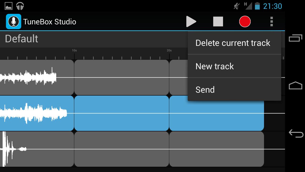 TuneBox Studio screenshot 2